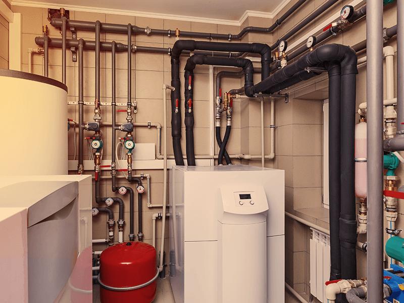 come funziona un impianto di riscaldamento centralizzato come quello in foto